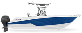Wellcraft 242 Fisherman center console boat